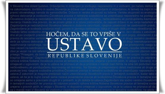 Hočem da se to vpiše v Ustavo ! (blog Don Marko M)