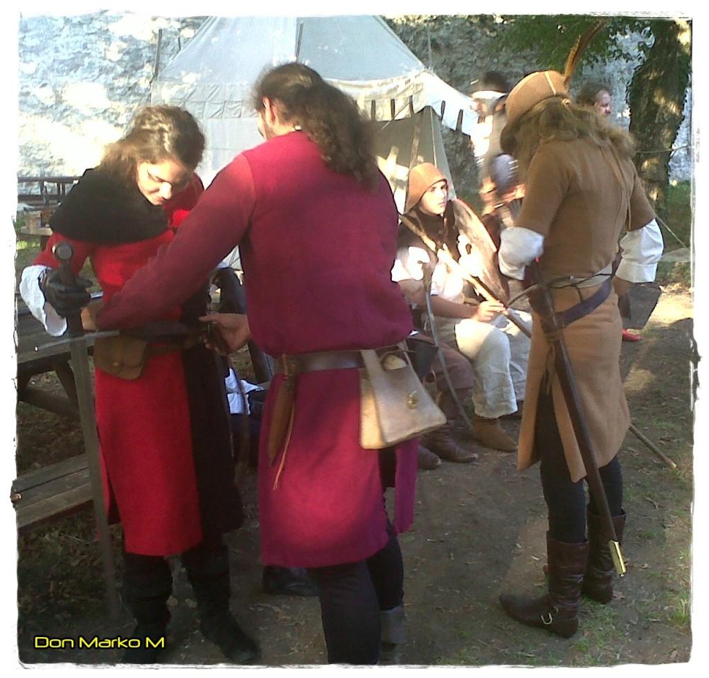 Grofje veličastni, vitezi bojeviti in dvorne lepotice dežele Celjske 10 Stari grad Celje 2013 (blog Don Marko M)