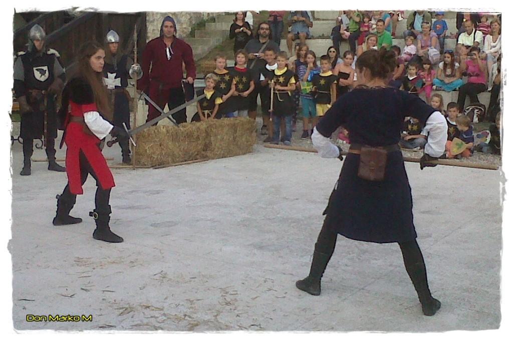 Grofje veličastni, vitezi bojeviti in dvorne lepotice dežele Celjske 24 Stari grad Celje 2013 (blog Don Marko M)