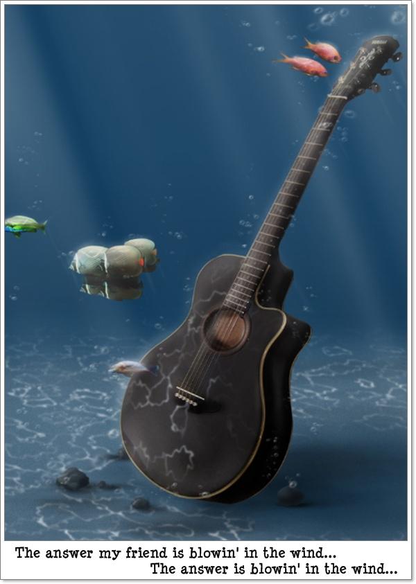 Črna kitara (blog Don Marko M)