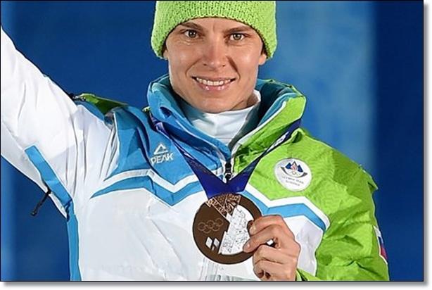Teja Gregorin Sochi 2014