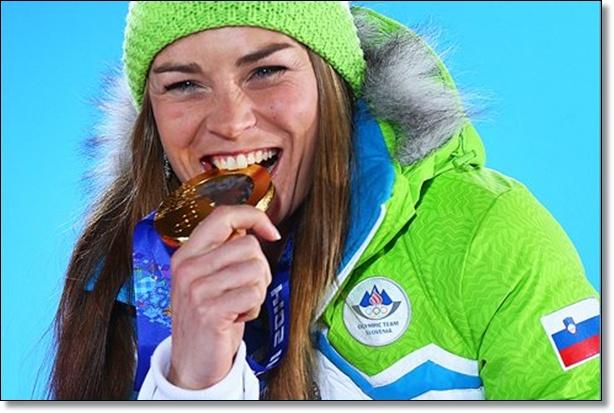 Tina Maze Sochi 2014