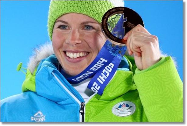 Vesna Fabjan Sochi 2014