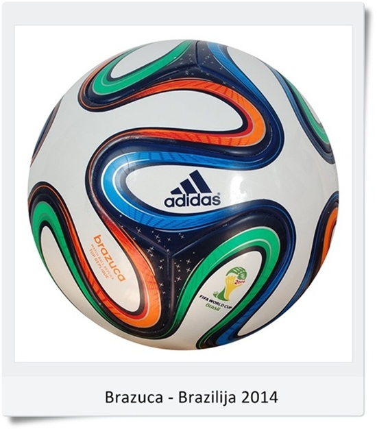 Žoga Brazuca SP Brazilija 2014 (blog Don Marko M)