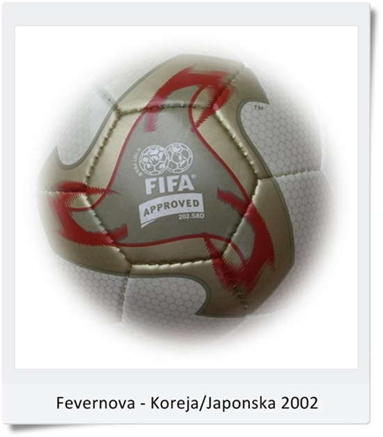 Žoga Fevernova SP Korea - Japonska 2002 (blog Don Marko M)
