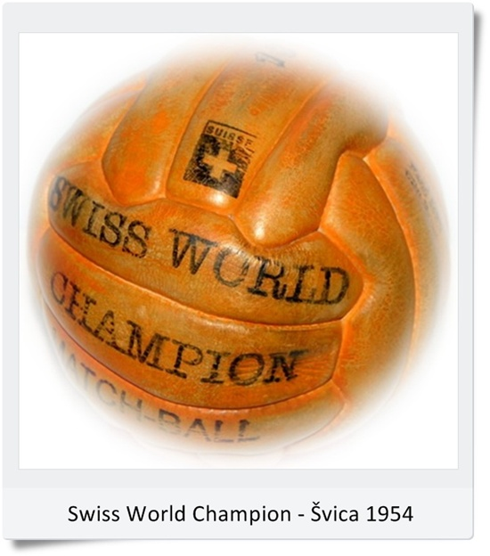 Žoga Swiss World Champion SP Švica 1954 (blog Don Marko M)