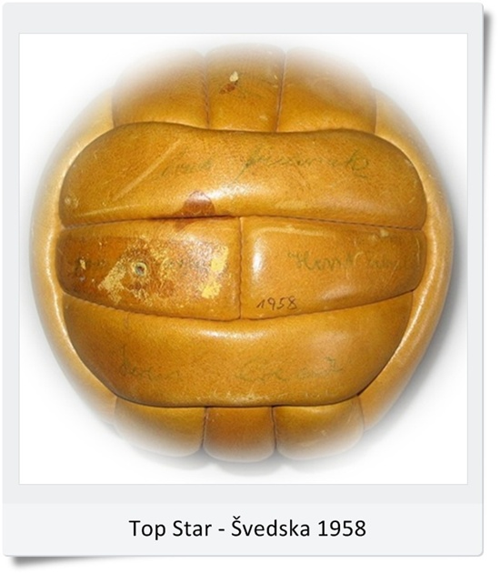 Žoga Top Star SP Švedska 1958 (blog Don Marko M)