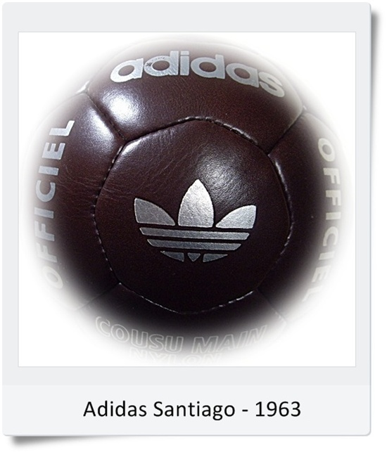 Žoga prva Adidas Santiago 1963 (blog Don Marko M)