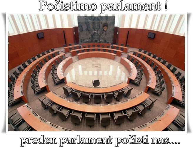 Počistimo parlament (blog Don Marko M)