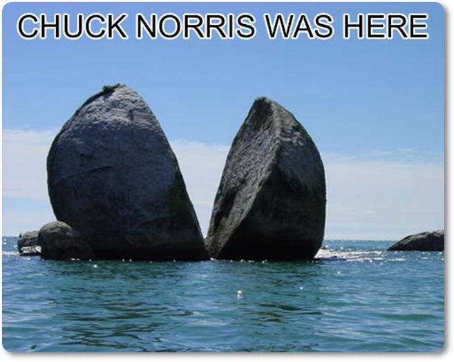 Čak Noris bil tukaj (blog Don Marko M)
