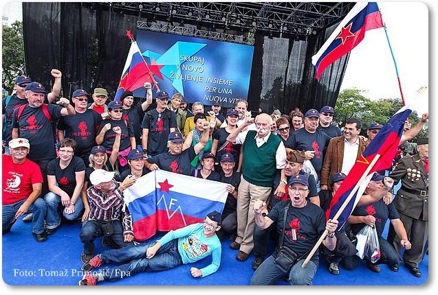 Izola, Proslava dna vrnitev Primorske k matièni domovini,