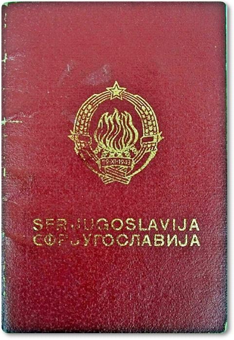 POTNI LIST SFRJ