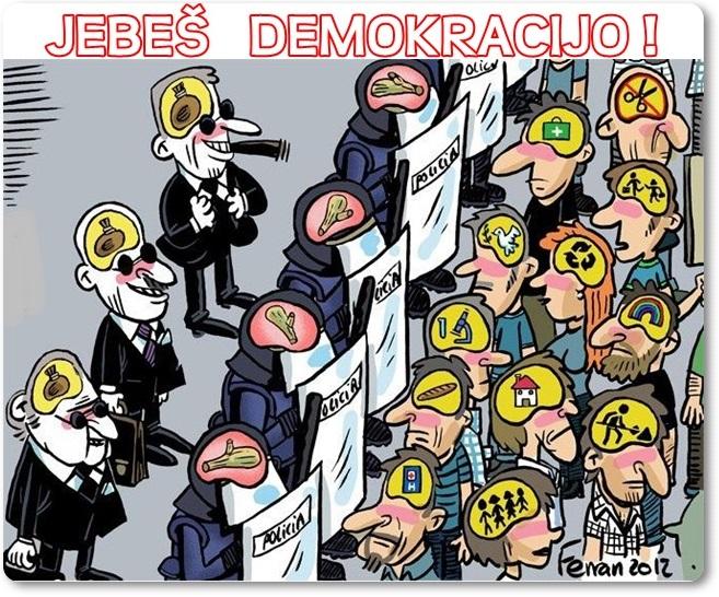 Jebeš demokracijo (blog Don Marko M)