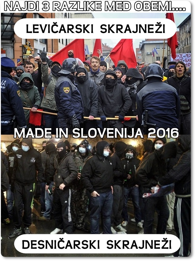 Skrajneži Slovenije (blog Don Marko M)