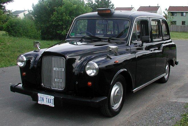 Londonski taxi nekoč in danes